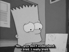 sad, quote, and simpsons image