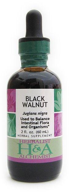 H&A BLACK WALNUT (SEED HULL) 2 OZ (4 UNITS)