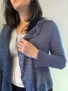 Ravelry: Lace Rhapsody pattern by City Farmhouse Studio Knit Lace, Knit Or Crochet, Lace Knitting, Knitting Patterns Free, Knit Patterns, Free Pattern, Simple Knitting, Sweater Patterns, Cardigan Pattern