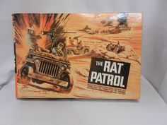Vintage Rat Patrol Model Set