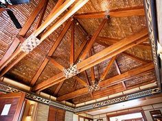 Cerchas en madera on pinterest timber frames post and - Cerchas de madera ...