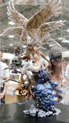 思わず息をのむほど美しい「デビルマン」の妖鳥シレーヌが超絶クオリティで立体化 - GIGAZINE