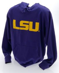 LSU Tigers Hooded Sweatshirt Purple LSU LSU-142