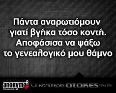 xx Funny Greek Quotes, Sarcastic Quotes, Funny Quotes, Funny Phrases, Have A Laugh, Just For Laughs, Puns, Sarcasm, Best Quotes