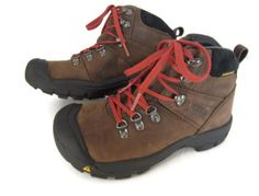 Keen Hiking Winter Boots Boys Youth Size 4 Brown Waterproof Lace Up Mint | eBay