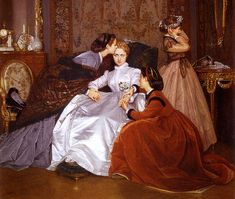 The Reluctant Bride, Toulmouche, 1866