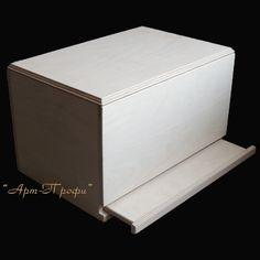 Купить Заготовка для декупажа Хлебница-коробка(арт.002) - бежевый, заготовка для декупажа, заготовки для декупажа