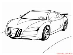 Autóss színező 050 Vehicles, Car, Sports, Hs Sports, Automobile, Sport, Autos, Cars, Vehicle