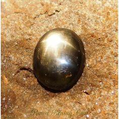 Natural Black Star Sapphire 2.74 Carat