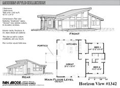 Horizon View #1342 Plan