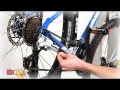 Regulacja przerzutki tylnej w rowerze - YouTube