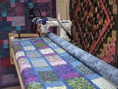 Convert Your Machine to Do Long Arm Quilting? - Keeping u n Stitches Quilting… Diy Quilting Frame, Quilting Tools, Longarm Quilting, Free Motion Quilting, Quilting Tutorials, Quilting Projects, Quilting Designs, Quilting Ideas, Long Arm Quilting Machine