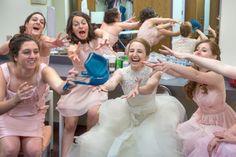 Toss the #wedding #bouquet? Pshhh. Toss the #blue bra! // Emin Kuliyev