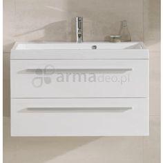 Elita KWADRO 80 WHITE - szafka podumywalkowa