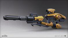 Destiny: Exotic Rifle, Mark Van Haitsma on ArtStation at http://www.artstation.com/artwork/destiny-exotic-rifle-ce4d439c-b040-4537-9a03-d1e57dbfadb9