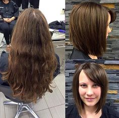 We LOVE when clients decide to donate their hair.
