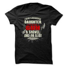 Awesome Daughter T-Shirts, Hoodies. BUY IT NOW ==► https://www.sunfrog.com/Funny/Awesome-Daughter-Shirt-20920761-Guys.html?id=41382