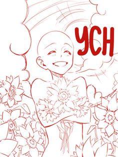 Sunflower YCH (OPEN) by Lily-Draws.deviantart.com on @DeviantArt
