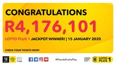 Ithuba National Lottery | Home Winning Lottery Numbers, Jackpot Winners, National Lottery, Amazon Gifts, Congratulations, Cards, Free, Maps, Playing Cards