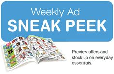 Walgreens Ad Sneak Peek For 2/22/2015-2/28/2015   Discover this week's deals, savings and bonus buys at your local Walgreens. Keep on saving with Paperless Coupons Now you can save even more with coupons that clip straight to your Balance® Rewards card.