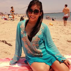 Youtube vlogger @Jessika of TheStyleSegment http://www.youtube.com/user/TheStyleSegment looks gorgeous in her Ella Moss Caravan Tunic Cover Up! - from your friends at swimspot <3 http://www.swimspot.com/Shop/Style-Swimsuit-Coverups.aspx #vlogger #coverup #swimspot #beach