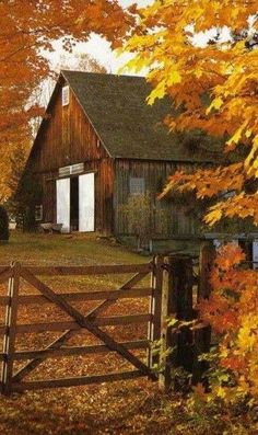 country living ... country charm ... autumn glory