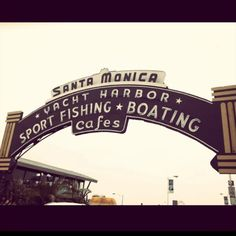 Santa Monica/have spent a few days here with family and later as a teen with friends and boyfriends