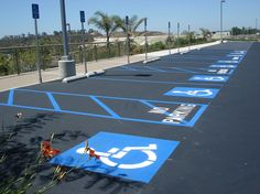 Parking lot striping San Diego Gallery