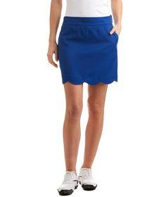 Vineyard Vines Scalloped Solid Skirt