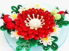 quilling flowers #quilling #flower # design # paper #paperquilling #quillingflowers #quillingart #papercrafts #learning  #tutorial  #paperart #paperflowers #handmade #종이감기#종이감기공예#종이감기꽃#종이공예#종이꽃#핸드메이드#クイリング#ペーパークラフト#手作り