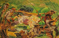 Carlos V. Francisco, Pilgrimage to Antipolo, Paulino and Hetty Que collection. Filipino Art, Filipino Culture, Value Painting, Painting & Drawing, Philippine Art, Cultural Studies, Artwork Images, Artists Like, Sculpture Art