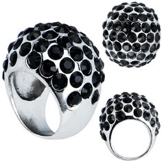 Glam Ring to Accessorize Night Moves 6670 #ring #formalapproach