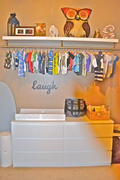 10 DIY Solutions For Bedrooms Without Closets | Store, Babies And Nursery