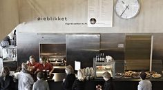 Øieblikket restaurant, Copenhagen, Black Diamond, Library, Coffee, terrace