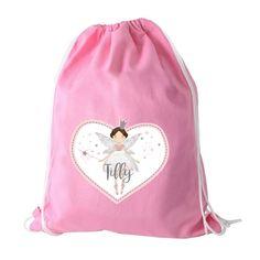 fb96665df9f Magical Fairy PE Bag, Girl's Magical Fairy PE Bag, Drawstring Fairy Bag, Swimming  Bag - Fairy, Girl's Swimming Bags