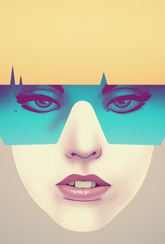 LadyGaga Poster by Nook don't like gaga but a cool poster