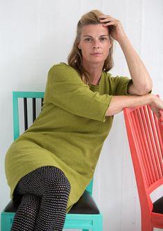 Tunika i lin/bomull – Kjolar & klänningar – GUDRUN SJÖDÉN – Kläder Online & Postorder
