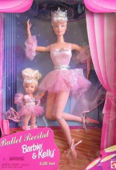 Fashion Doll: Ballet Recital BARBIE  KELLY Doll Gift Set 1997 ** Check this…