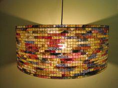 "20% Off - On Sale - Chandelier Pendant Light Lighting 24"" Lampada Coffee Filter Art Hanging Lamp Lampshade"