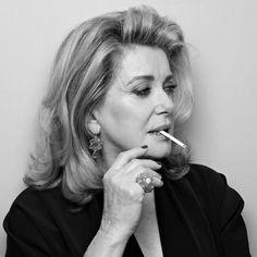 una-lady-italiana:  Catherine Deneuve