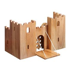 wood model castle plans - Buscar con Google