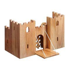 wood model castle plans - Buscar con Google