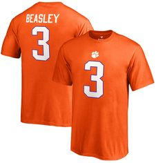 Vic Beasley Clemson Tigers Fanatics Branded Youth College Legends Name & Number T-Shirt - Orange