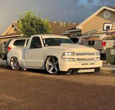Custom Pickup Trucks, Pickup Car, Classic Pickup Trucks, Chevy Silverado Single Cab, Silverado Truck, Silverado 1500, Chevy Trucks Lowered, Dodge Trucks, Single Cab Trucks