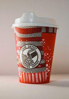 Coffee Depot / packaging by Phil heroux.Designer, via Behance
