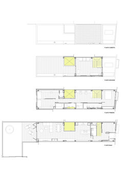 """Las """"cases de cós"""" de los centros urbanos de los pueblos de Cataluña se caracterizan por un estrecho ancho de parcela, adaptado a la crujía estructural entre dos paredes de carga paralelas. A veces, como en el caso de esta obra a cargo delEstudi..."""