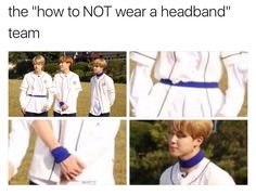 Thank you for showing me how to wear a headband