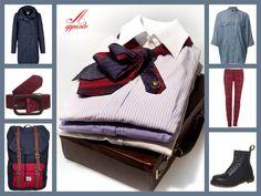 #necktie #outfit #tartan https://www.etsy.com/it/listing/180974192/collana-doppia-cravatta-riciclo-creativo?ref=related-5