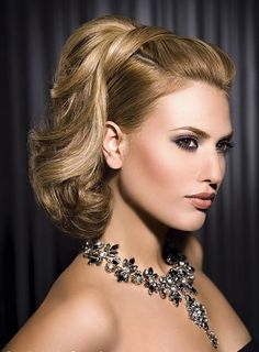 hairstyle for a wedding guest