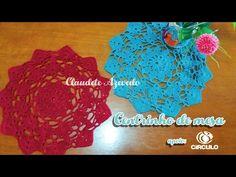 Centrinho de mesa em crochê by Claudete Azevedo